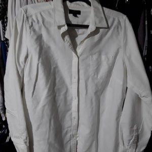 American eagle white dress shirt